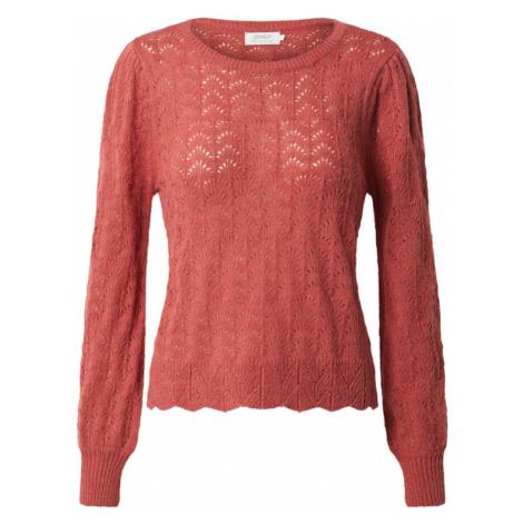 ONLY Sweter 'MALOU' pastelowa czerwień
