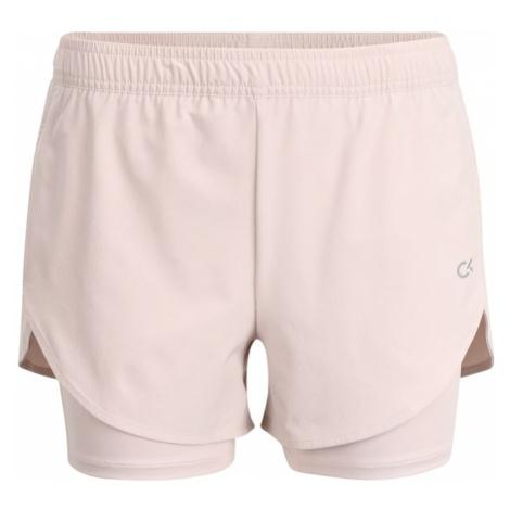 Calvin Klein Performance Spodnie sportowe różowy pudrowy / fioletowy