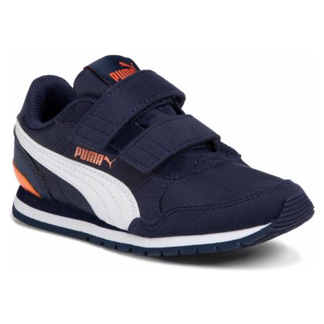 Sneakersy PUMA - St Runner v2 Nl V Ps 365294 15 Peacoat/Puma White/Firecrack