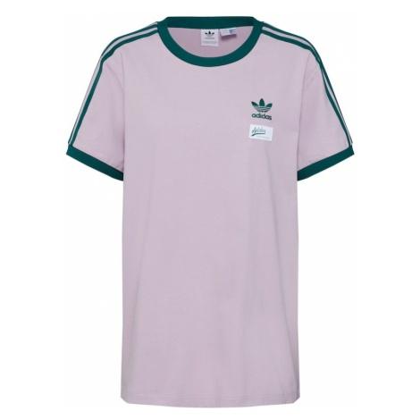 ADIDAS ORIGINALS Koszulka '3 STRIPES TEE' liliowy / czarny