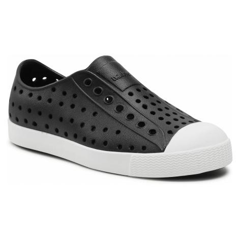 Trampki NATIVE - Jefferson 15100100-1105 Jiffy Black/Shell White Native Shoes