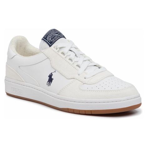 Sneakersy POLO RALPH LAUREN - Crt Pp 809800457001 White