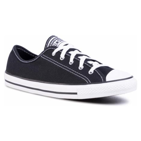 Trampki CONVERSE - Ctas Dainty Ox 564982C Black/White/Black