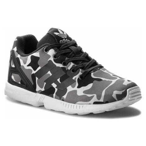 Buty adidas - Zx Flux C AQ1739 Carbon/Carbon/Ftwwht