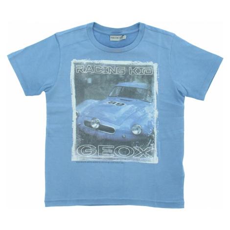 Geox Koszulka dziecięce Niebieski