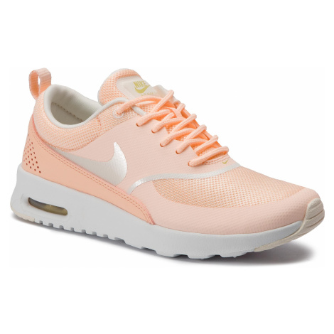 Buty NIKE - Air Max Thea 599409 805 Crimson Tint/Pale Ivory/Celery