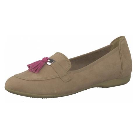 MARCO TOZZI Pantofle jasnobrązowy