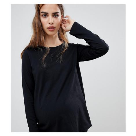ASOS DESIGN Maternity mix & match long sleeve pyjama tee
