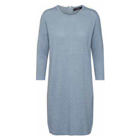 VERO MODA Sukienka z dzianiny 'VMMINNIECARE' podpalany niebieski