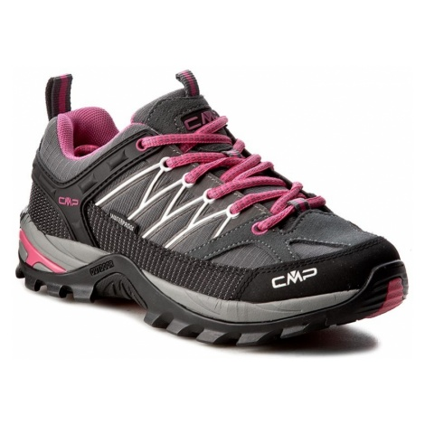 Trekkingi CMP - Rigel Low Trekking Shoes Wp 3Q54456 Grey/Fuxia/Ice 103Q