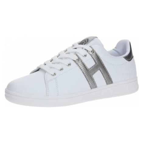 H.I.S Trampki niskie srebrny / biały