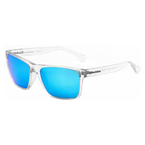 okulary Horsefeathers Merlin - Crystal/Mirror Blue/Polarized