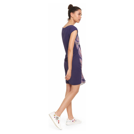 Desigual Kiroga Sukienka Niebieski