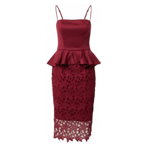 Chi Chi London Sukienka 'Chi Chi Francie' burgund