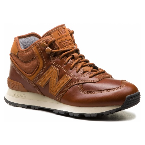 Sneakersy NEW BALANCE - MH574OAD Brązowy