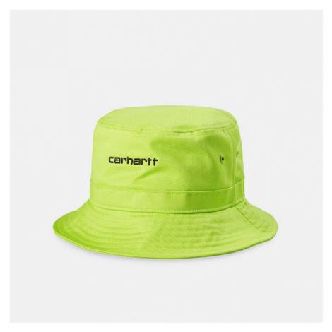 Kapelusz Carhartt WIP Script Bucket Hat I026217 LIME/BLACK