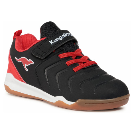 Buty KANGAROOS - Speed Comb Ev 18612 000 5053 Jet Black/Fiery Red
