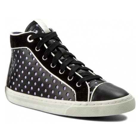 Sneakersy GEOX - D New Club B D5258B 0BC21 C9997 Czarny
