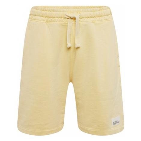 Review Spodnie 'SHORTS EASY' żółty