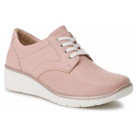 Półbuty LASOCKI - WI23-2160-06 Pink