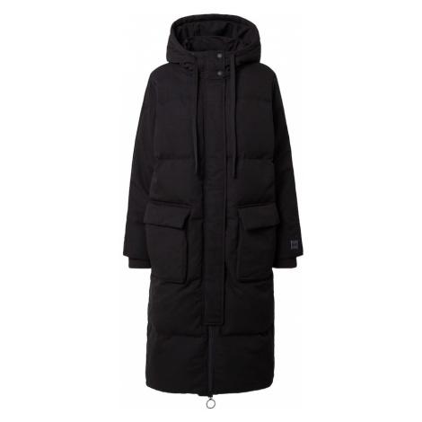 GAP Płaszcz zimowy czarny