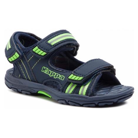 Sandały KAPPA - Symi K 260685K Navy/Green 6730