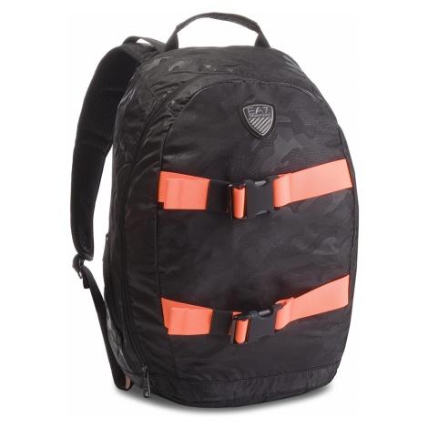 Plecak EA7 EMPORIO ARMANI - 275824 8A804 60920 Camouf.Blk/Oran.Flu