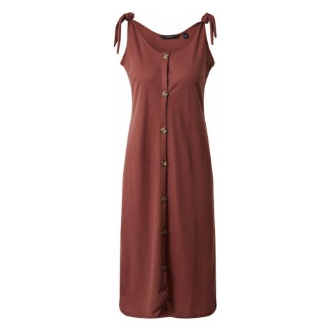 VERO MODA Sukienka 'Petra' rdzawobrązowy