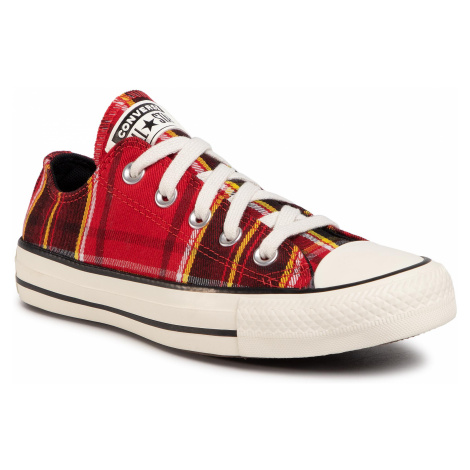 Trampki CONVERSE - Ctas Ox 568926C University Red/Black/Egret