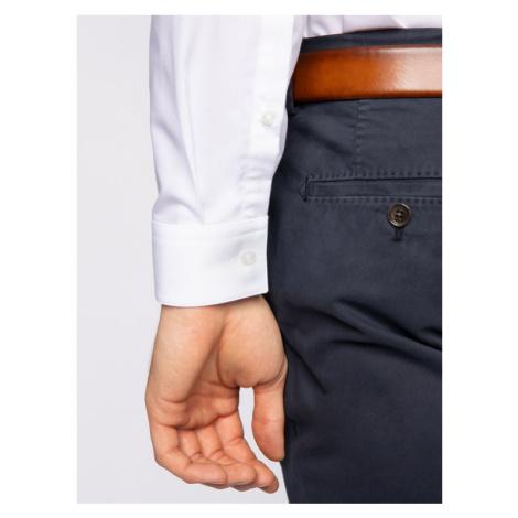 Hugo Koszula Emery 50425910 Biały Extra Slim Fit Hugo Boss