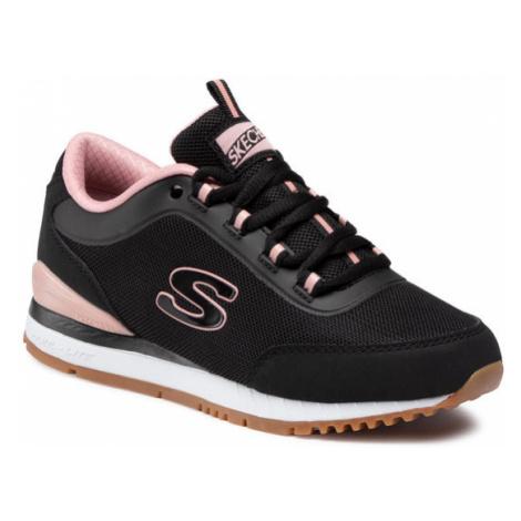 Skechers Sneakersy Casual Daze 155031/BLK Czarny
