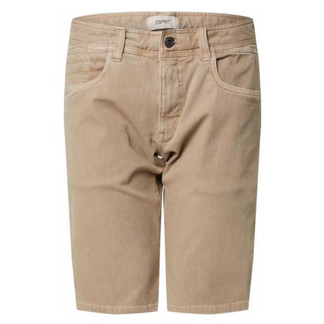 ESPRIT Spodnie beżowy