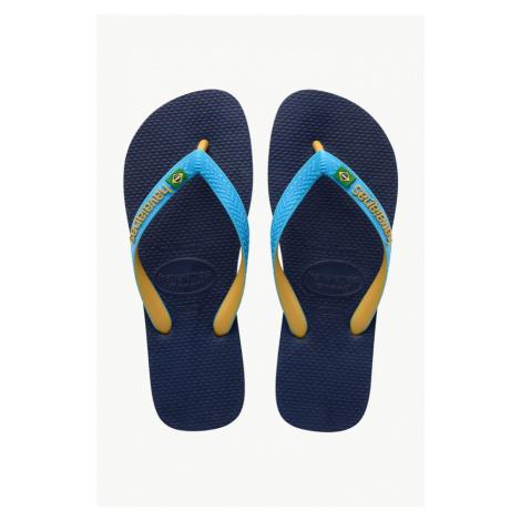 Japonki Havaianas Brasil Mix 7672P Blue/turquoise/burned Yellow