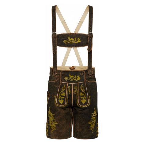 ALMSACH Spodnie ludowe brązowy