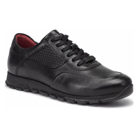 Sneakersy WOJAS - 9078-51 Czarny