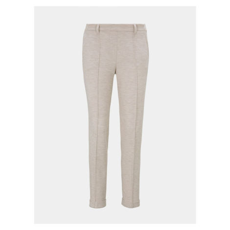 Beżowe spodnie damskie Tom Tailor