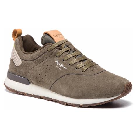 Sneakersy PEPE JEANS - Boston Smart PMS30520 Khaki Green 765