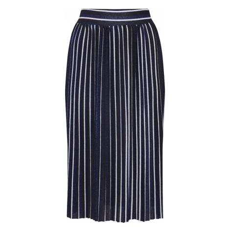 ONLY Spódnica 'Hildur' niebieska noc / biały