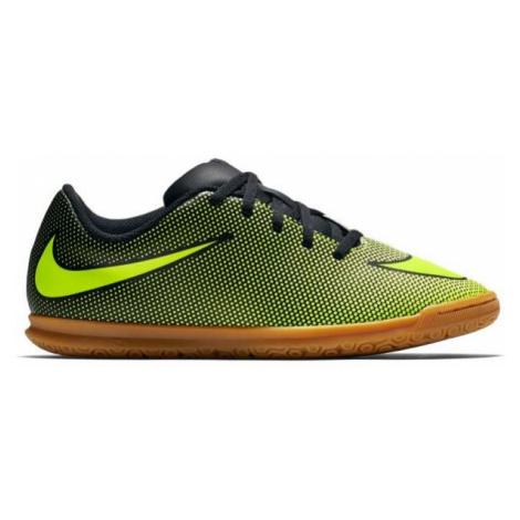 Nike BRAVATA II IC JR czarny 1Y - Obuwie piłkarskie halowe dziecięce