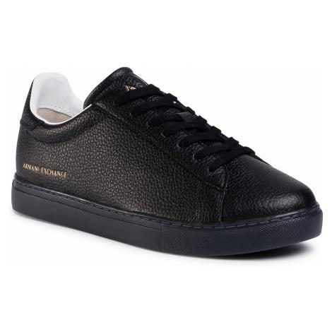 Sneakersy ARMANI EXCHANGE - XUX001 XV248 K001 Black/Black