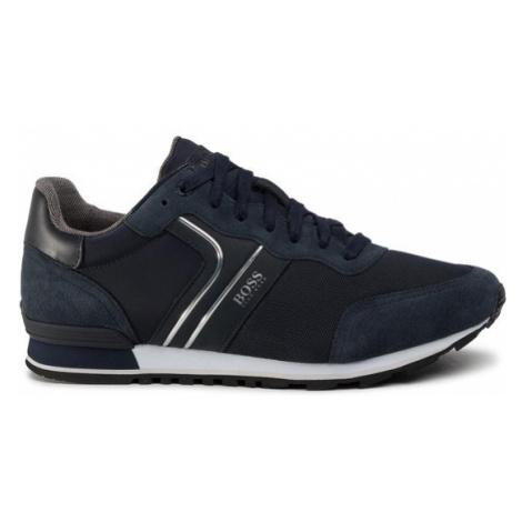 Boss Sneakersy Parkour 50433661 10214574 01 Granatowy Hugo Boss