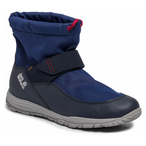 Śniegowce JACK WOLFSKIN - Kiwi Wt Rexapore Mid K 4036201 Dark Blue/Red