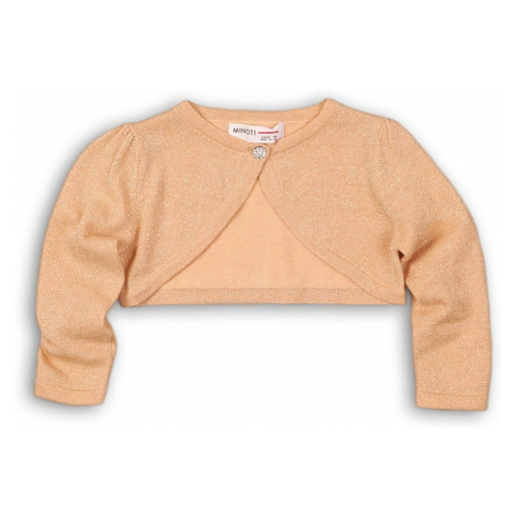 Sweter dziewczęcy- bolerko Minoti