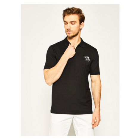Hugo Polo Delion 50425760 Czarny Regular Fit Hugo Boss
