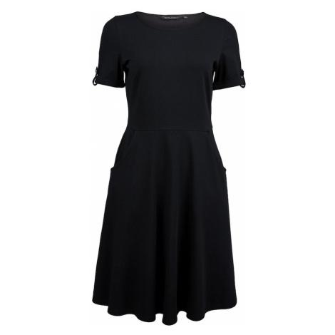 Dorothy Perkins Sukienka 'BLACK TSHIRT DRESS' czarny