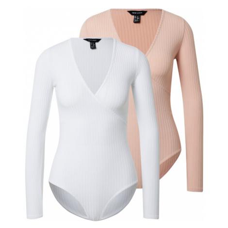 NEW LOOK Koszulka biały / cielisty
