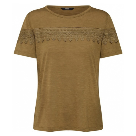 ONLY Koszulka 'onlISA' oliwkowy
