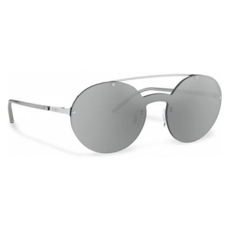 Emporio Armani Okulary przeciwsłoneczne 0EA2088 30156G Srebrny
