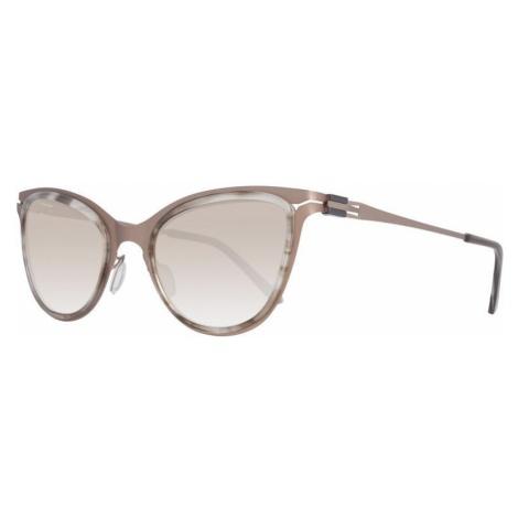 GTI okulary przeciwsłoneczne damskie złote
