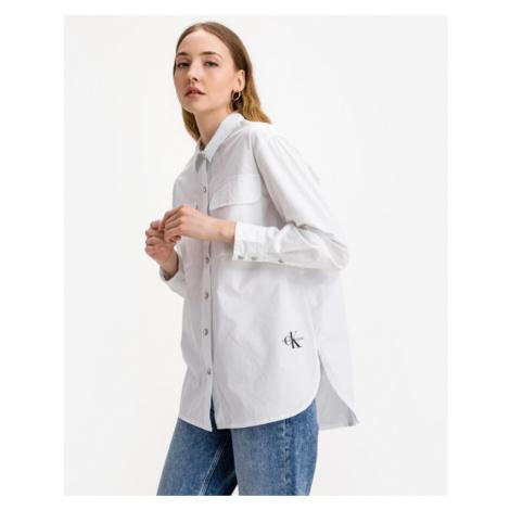 Calvin Klein Twill Koszula Biały